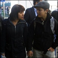 Pamela Zapata e Carla de la Fuente
