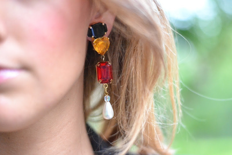 Vintage, Vintage bijoux, Vintage earrings