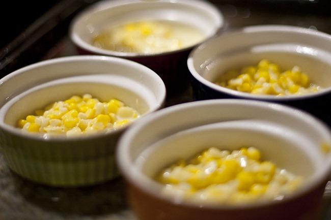 Corn in Ramekins