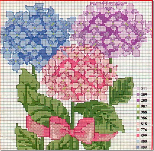 Ponto Cruz-Cross Stitch-Punto Cruz-Punto Croce-Point de Croix-285