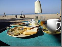 Agonda Shanti Frühstück