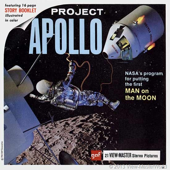 View-Master Project Apollo (B658), Packet Cover