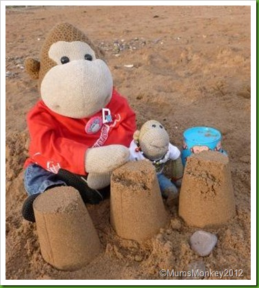 Building Sandcastles Dawlish Warren