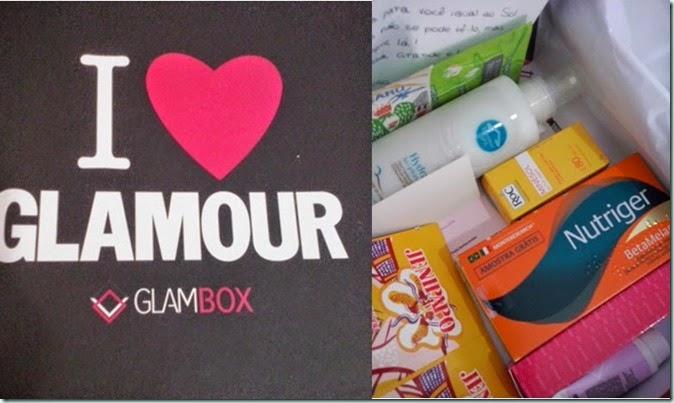 Ganhei uma Glambox!!