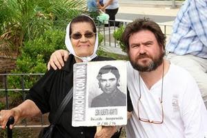Marcela Brizuela de Ledo y Alfredo Olivera