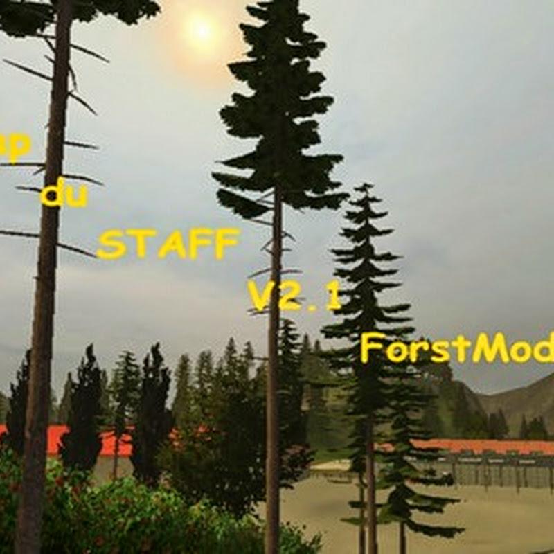 Farming simulator 2013 - Map du Staff v 2.1 ForstMod