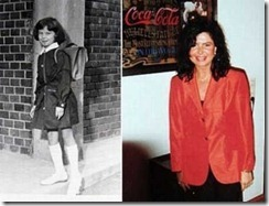 Jocelyn Wildenstein na adolescência