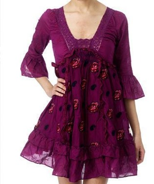 #44 Taradiddle rose dress royal