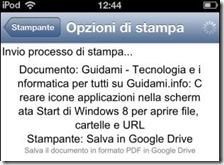 Pagina internet convertita in PDF con Chrome