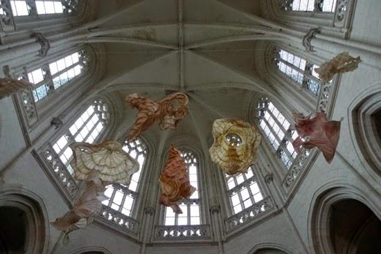 Esculturas papel Peter Gentenaar 07