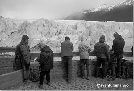 Perito Moreno - Preto e branco