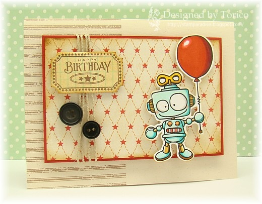 robot balloon_sample