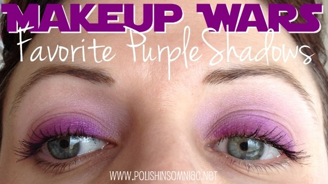 Makeup Wars - Favorite Purple Shadows