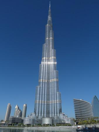Cel mai inalt turn din lume: Burj Khalifa Dubai