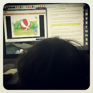 Compartir pantalla con tu hijo para estudiar y poder ver pocoyó o caillou en youtube