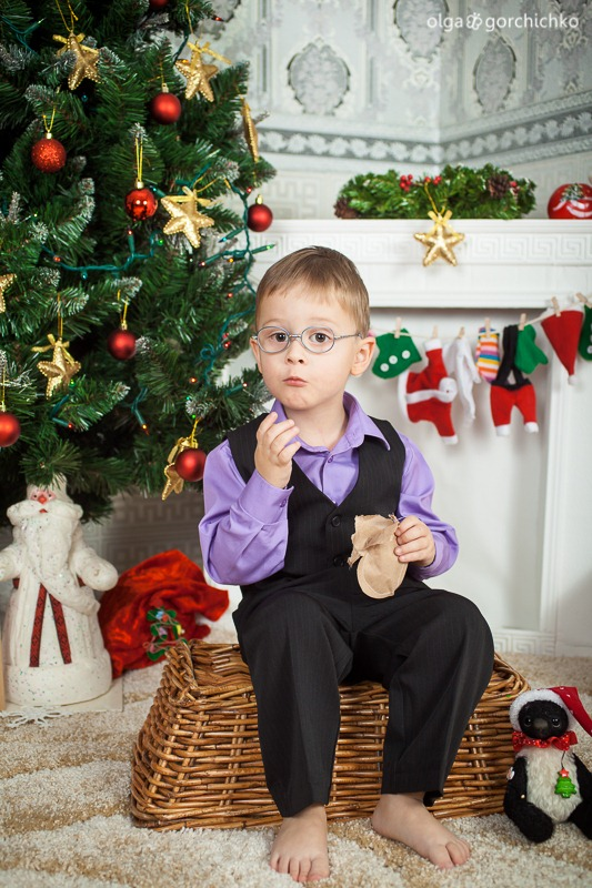 Детский новогодний фотопроект Рождественские мечты. 4. Владик (Оля Шидловская)-8243