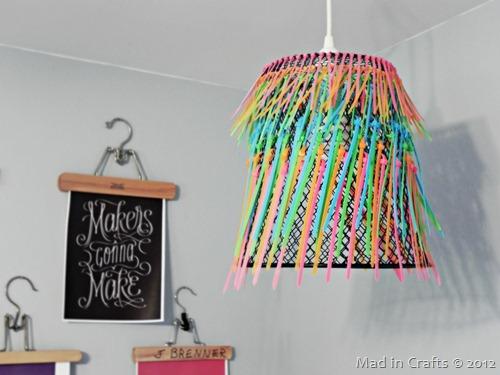 zip tie pendant lamp