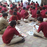 Ganesh chaturthi celebrations in Santosh Nagar Boys Branch