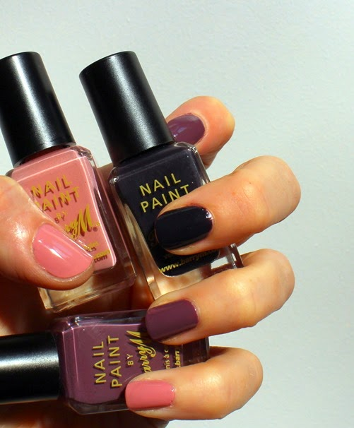 BarryM-Ballerina,Vintage-Violet,Nightshade-Autumn-2014-colours