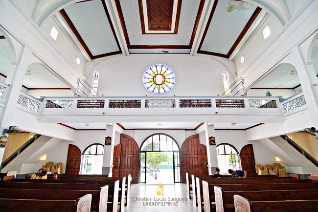 Entrance to Our Lady of Mt. Carmel Church Lipa