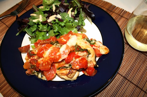 Bruschetta Chicken; Marian Briscoe