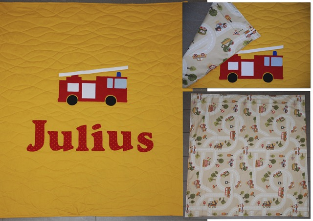 Quilt Julius Collage