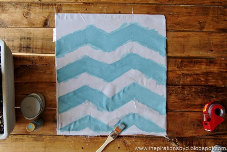 hand painted pillows inspirationsbyd.blogspot.com