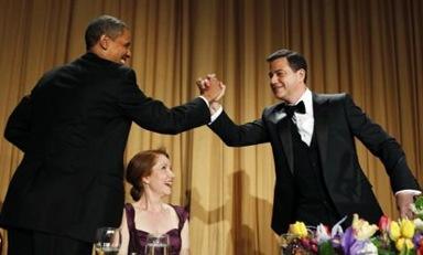 Obama, Kimmel Keep White House Correspondents Dinner Full of Laughs