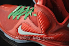 nike lebron 9 gr christmas 3 10 Throwback Thursday: Look Back at LBJs 2011 Christmas Shoes