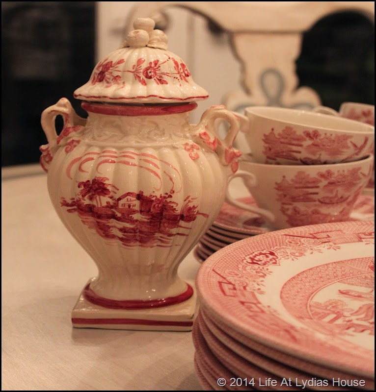 transferware and urns