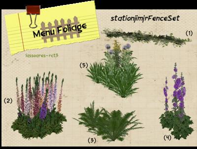 stationjimjrFenceSet - Foliage (stationjimjr) lassoares-rct3