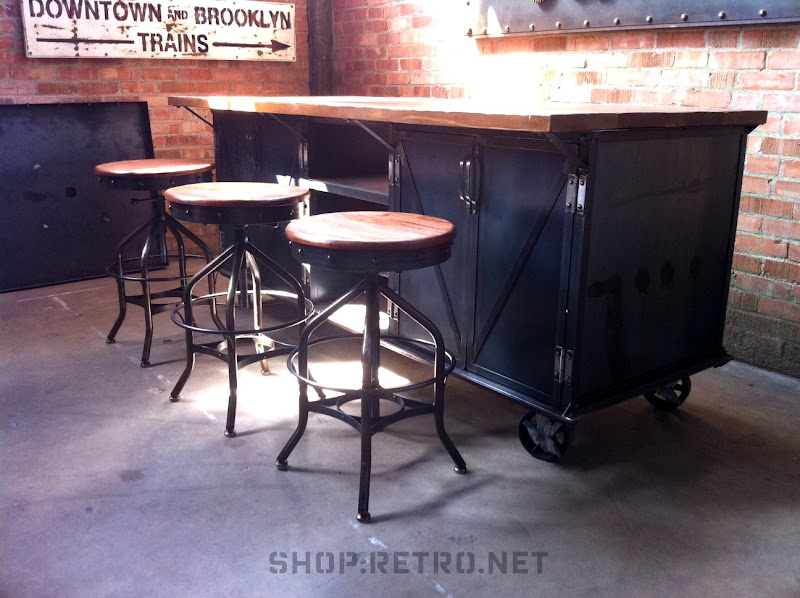 kitchen island | vintage industrial furniture