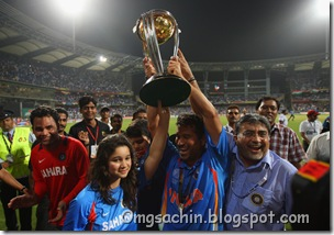 Sachin Tendulkar Sara Tendulkar India v Sri 1v_Re9QhInjl