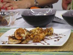 franz lehmann - camarones encocados con jarabe de soya y vino 2