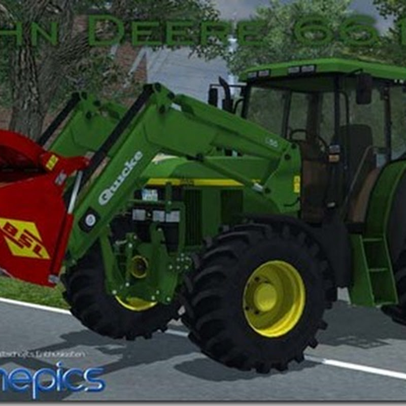 Farming simulator 2013 - John Deere 6610 v 3.2