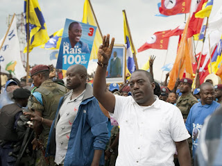 Joseph Kabila en campagne lectorale  Goma, le 14 novembre 2011.  MONUSCO/Sylvain Liechti