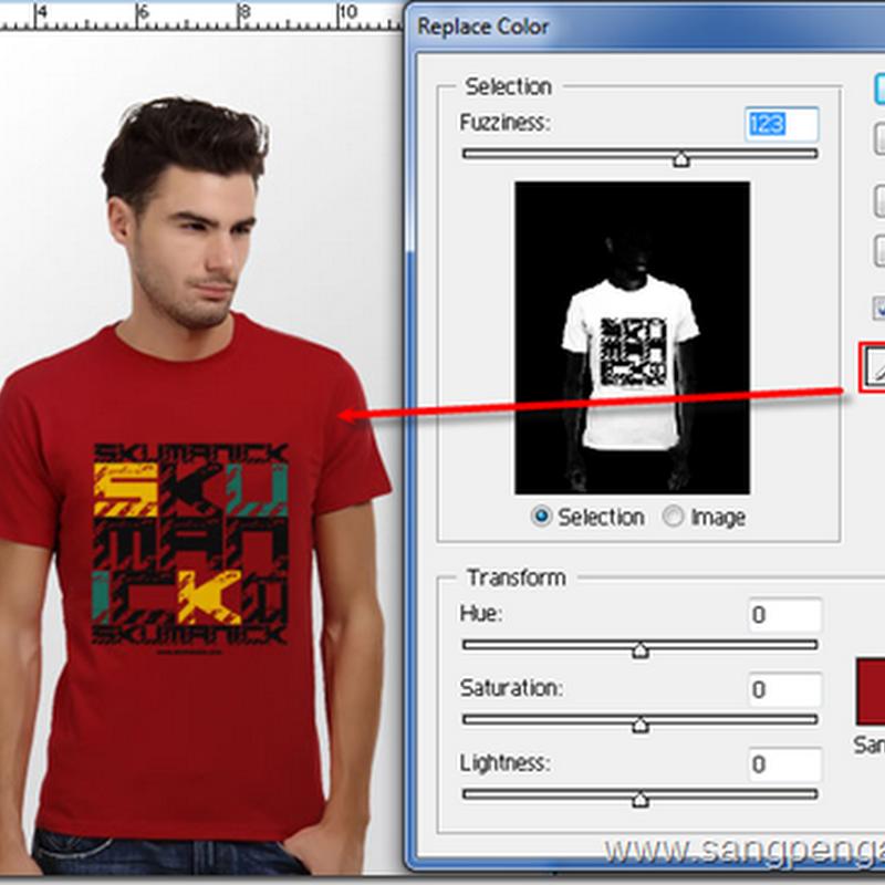 Mengganti Warna dengan Replace Color pada Photoshop
