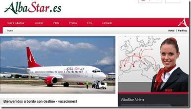 aerolinea española alba star es promociones