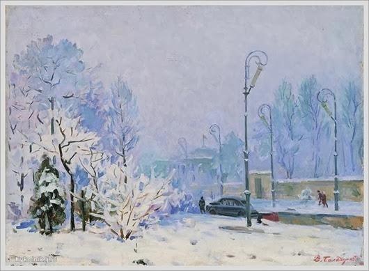 Болдырев Владимир Степанович (1911-1993) «Зима в Киеве»