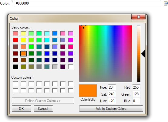 ColorBrowsing