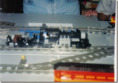 24 Pacific Northwest Lego Train Club Layout at GATS in Portland, Oregon in October 1998