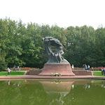 Estatua de Frédéric Chopin