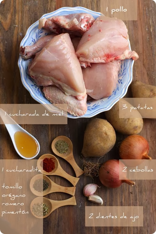 pollo-a-la-miel-ingredientes
