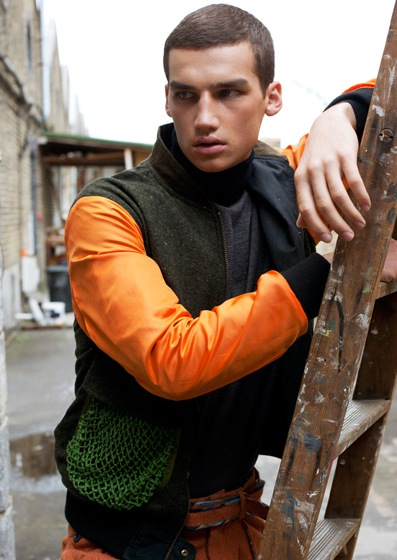 Misa Patinszki @ M+P, photography + styling by Niclas Keikkinen for GRIT mag, September 2011