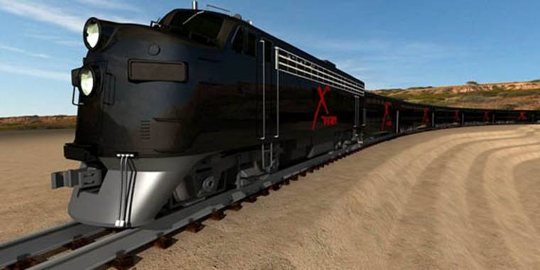 Las Vegas Railways Express - X Train