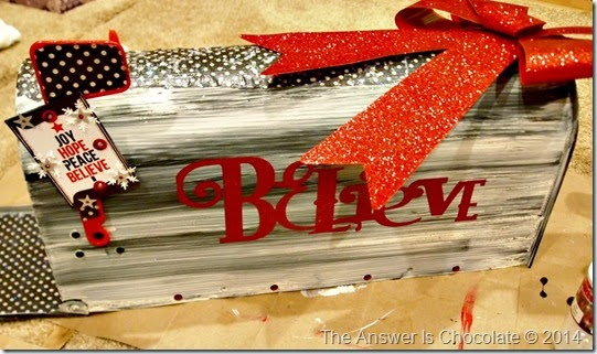 Santas Mailbox Believe