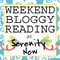 WeekendBloggyReading