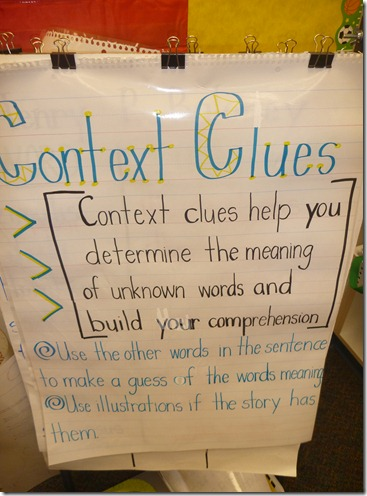 Teaching With a Mountain View: Context Clues