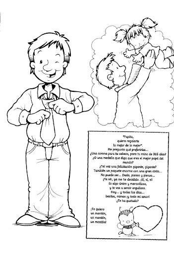 Dibujos Para El Dia Del Padre Para Colorear   Dibujos Para