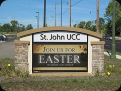 St. John UCC Sign Concept